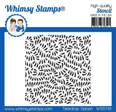 Teardrop Splash - Whimsy Stamps