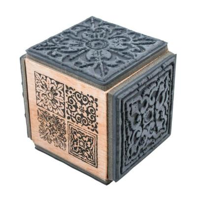 Tiled Quad Cube - Stampendous!