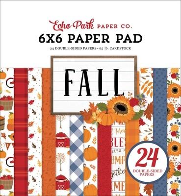 Fall 6x6 - Echo Park Paper Co.