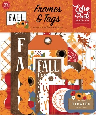 Fall Frames & Tags - Echo Park Paper Co.