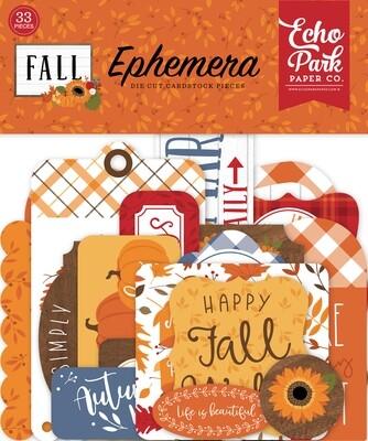 Fall Ephemera - Echo Park Paper Co.