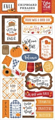 Fall Phrases - Echo Park Paper Co.