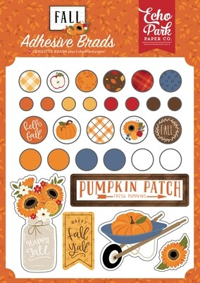 Fall Decorative Brads - Echo Park Paper Co.