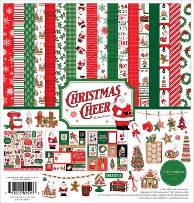 Christmas Cheer 12x12 - Carta Bella Paper Co.