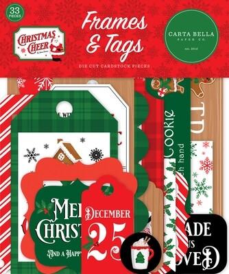 Christmas Cheer Frames & Tags - Carta Bella Paper Co.