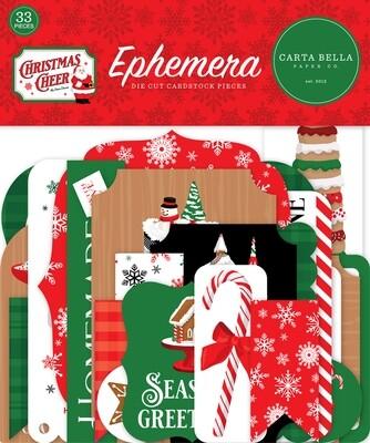 Christmas Cheer Ephemera - Carta Bella Paper Co.