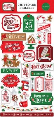 Christmas Cheer Phrases - Carta Bella Paper Co.