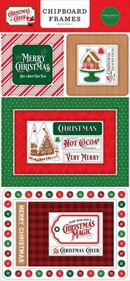 Christmas Cheer Frames - Carta Bella Paper Co.