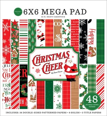 Christmas Cheer Mega 6x6 - Carta Bella Paper Co.