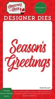 Nostalgic Season's Greetings - Carta Bella Paper Co.