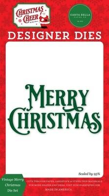 Vintage Merry Christmas - Carta Bella Paper Co.