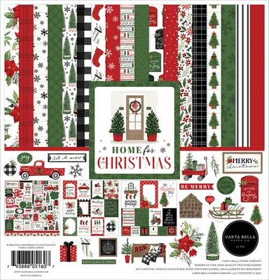Home For Christmas 12x12 - Carta Bella Paper Co.