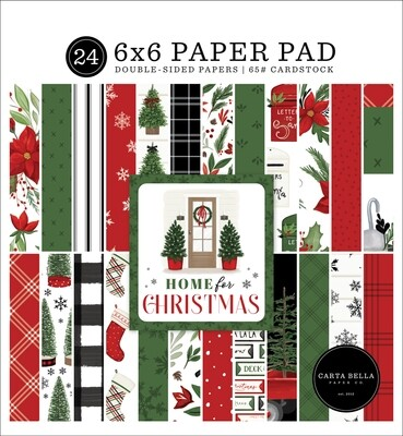 Home For Christmas 6x6 - Carta Bella Paper Co.