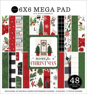 Home For Christmas Mega 6x6 - Carta Bella Paper Co.