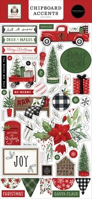 Home For Christmas Accents - Carta Bella Paper Co.