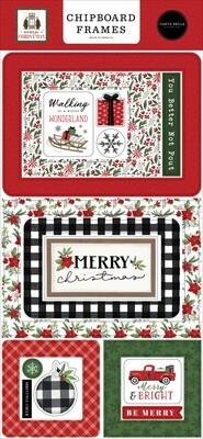 Home For Christmas Frames - Carta Bella Paper Co.