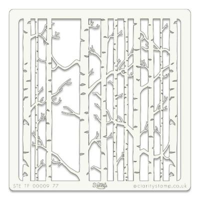 Birch Trees - Claritystamp
