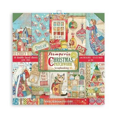 Christmas Patchwork 12x12 - Stamperia
