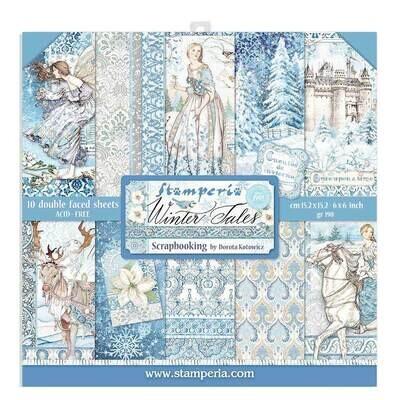 Winter Tales 6x6 - Stamperia
