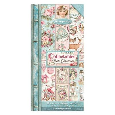 Pink Christmas Collectibles - Stamperia