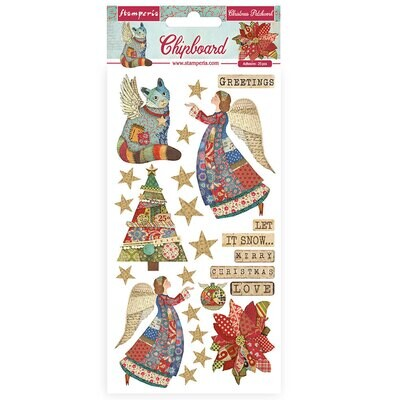 Christmas Patchwork - Stamperia
