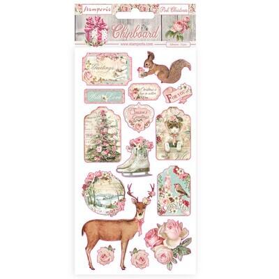 Pink Christmas - Stamperia