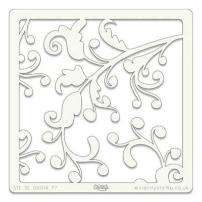 Ocean Swirl - Claritystamp