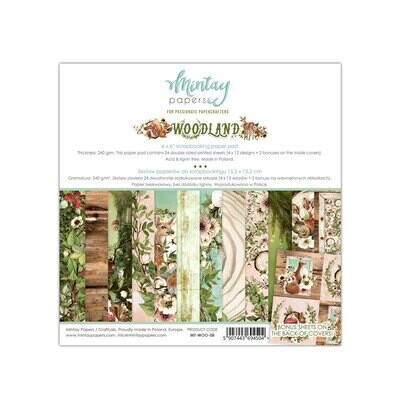 Woodland 6x6 - Mintay Papers