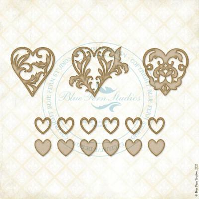 Hearts a Flutter - Blue Fern Studios - A Romantic Life