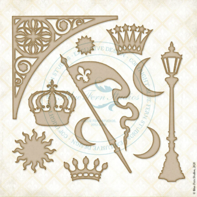 Crowning Glory - Blue Fern Studios - Jane's Memoirs