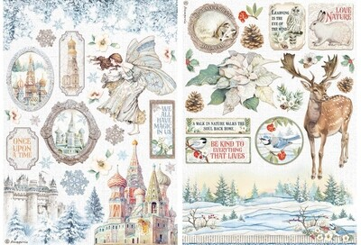 Winter Tales Collection A4 - Stamperia