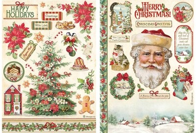 Classic Christmas Collection A4 - Stamperia
