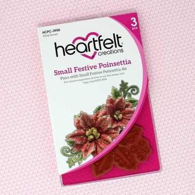 Small Festive Poinsettia - Heartfelt Creations Festive Poinsettia