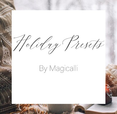 Holiday Preset Pack