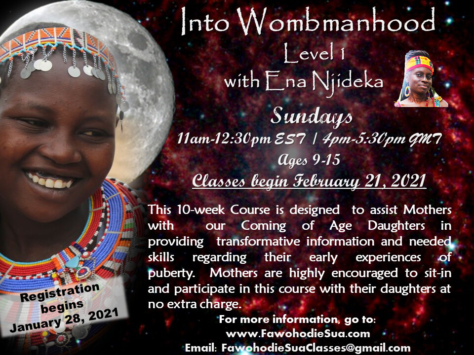 Into Wombmanhood LV 1 Course