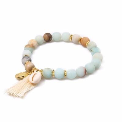 Turquoises Cowrie Shell Bracelet