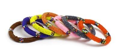 Maasai Beaded Bracelets- Round Assorted