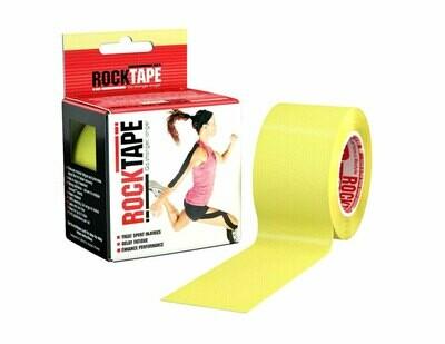 RockTape, 5см×5м, желтый