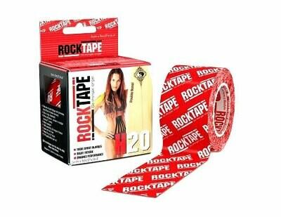 RockTape H2O, 5см×5м, красный логотип