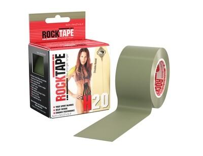 RockTape H2O, 5см×5м, олива