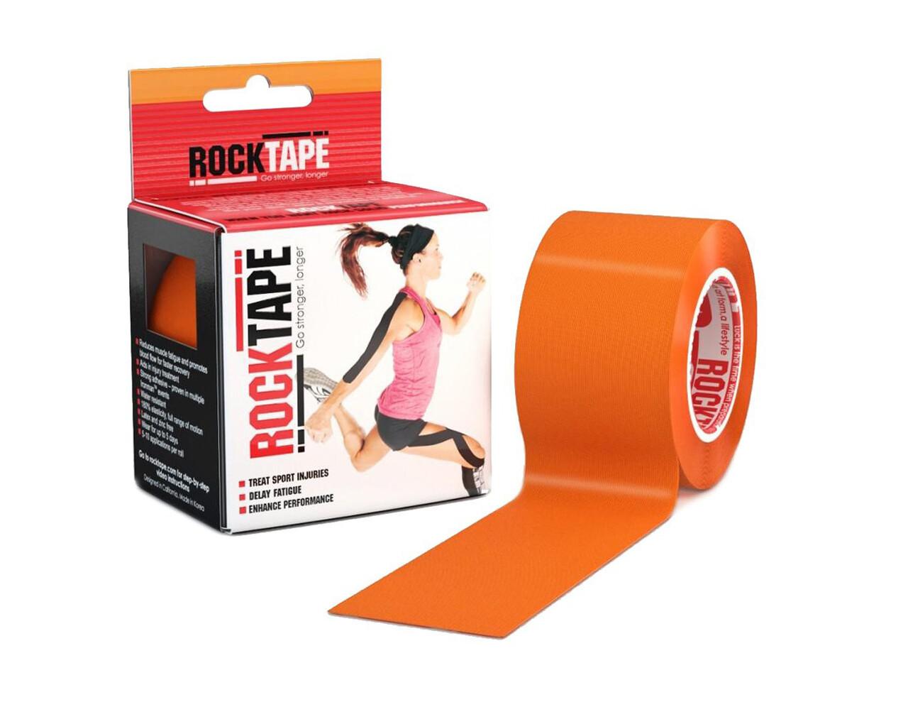 RockTape, 5см×5м, оранжевый