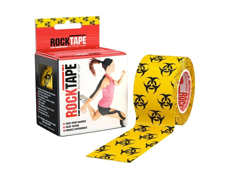 RockTape, 5см×5м, Biohazard