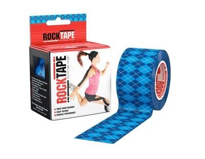 RockTape, 5см×5м, Blue Argyle