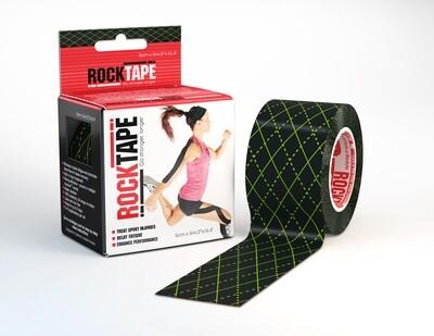 RockTape, 5см×5м, Black Argyle