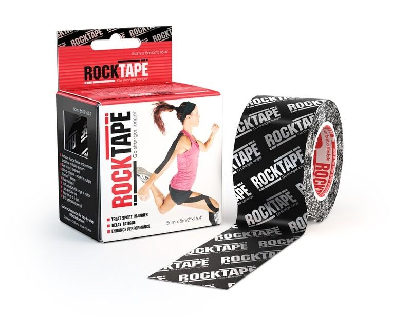 RockTape, 5см×5м, Silver Logo