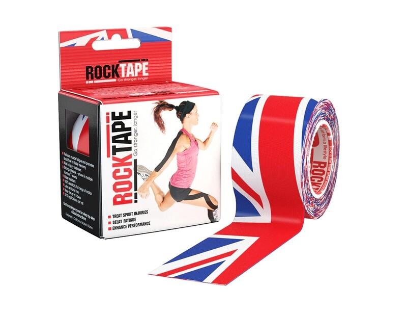 RockTape, 5см×5м, британский флаг
