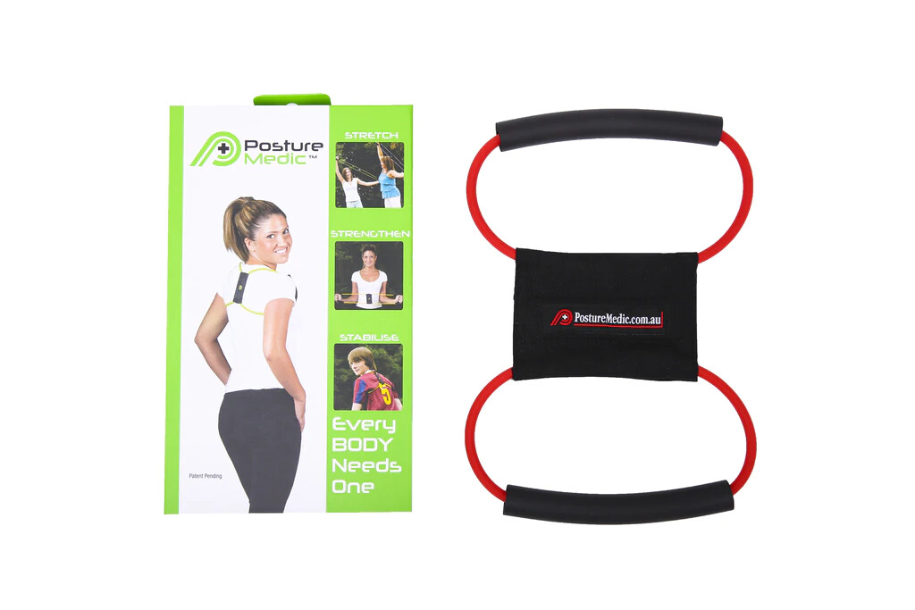 Корректор-эспандер Posture Medic (S, красный)