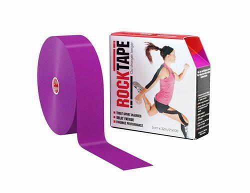 RockTape, 5см×32м, фиолетовый