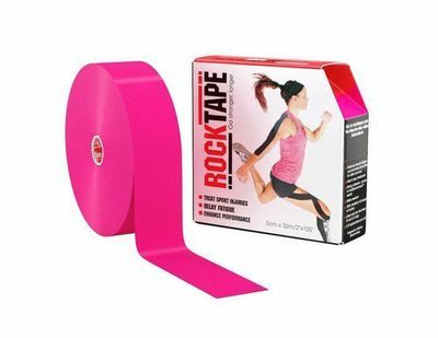RockTape, 5см×32м, розовый