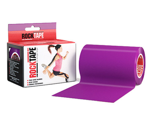 RockTape, 10см×5м, фиолетовый